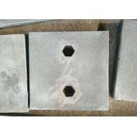 Chrome-Moly Steel wear plates and maching parts are testings before delivery Manufactures