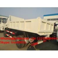 Quality Factory customized cheapest price CLW brand 4*4 RHD diesel dump tipper truck for for sale