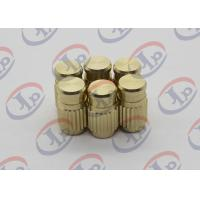 ISO SGS CNC Production Machining Blind Via Hole Brass Nuts With M3 Internal Thread Manufactures