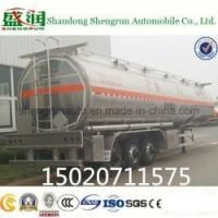 Buy cheap 3 Axle Aluminum Fuel Tank Semi Trailer from wholesalers