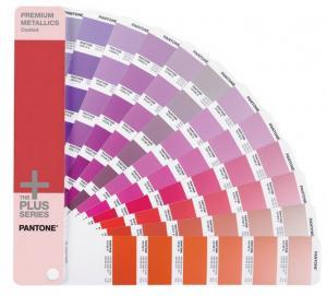 2015 Edition PANTONE Metallics Color Card - 10 Manufactures