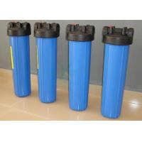 Plastic / PVC / PP Security Water Filter Housing For Water Treatment Purification Machine Manufactures