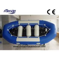 Quality Heavy Duty 4 Person Inflatable Drift Boat Inflatable Fishing Dinghy Weight 58kg for sale