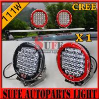 Buy cheap 9 inch 111W 185W LED Driving Light For jeep Truck Off Road LED Wok light 4x4 12v from wholesalers