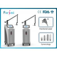 Latest 0.12mm-1.25mm adjustable spot size fractional co2 surgical laser device Manufactures