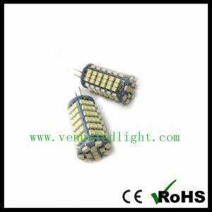 G4 5.5W 720 Lumen 120 SMD 3528 LED Spot Light Pure Warm White Bulb Lamp DC 12V Manufactures