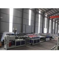 Buy cheap 380V 50HZ WPC Board Production Line For Furniture 1 Year Warranty from wholesalers