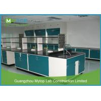 Dust Proof Modular Lab Furniture Lab Workbench For Pharmacy Antimicrobial Manufactures