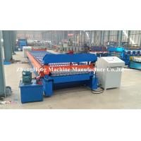 HIgh power Customized Roofing Panel Corrugated Roll Forming Machine 380V 50Hz 3 Phases Manufactures