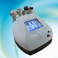 40Khz ultrasonic liposuction cavitation slimming machine with 2 RF and 1 vacuum head Manufactures