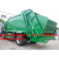 Quality Factory customized HOWO 4*2 LHD/RHD 8m3/10m3/12m3/14m3 compression garbage truck for sale