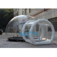 Inflatable Outdoor Bubble Lodge Tent , 4M Dia Transparent Camping Tent Manufactures
