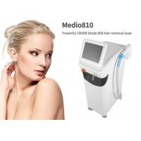 Fast Treatment Laser Body Hair Removal Machine Single Phase Grounded Outlet Manufactures