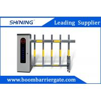 60W 2 Fence Security Parking Lot Barrier Gate , Vehicle Boom Barrier For Outdoor Manufactures
