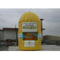 Fire Retardant Inflatable Lemonade Booth , Photo Booth Advertisement Bar Tent Manufactures