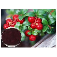 Dark Red Powder Antifungal Plant Extracts PACs From Cranberry Anti Radiation Manufactures