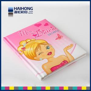 China Hardcover Binding Custom Notebook Printing , Foam / Sponge cover paper notebook on sale