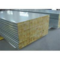 Fire Proof Rock Wool Galvanised Steel Roofing Sheets Environment Friendly Manufactures