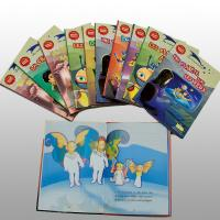 Recycled Disney Coloring Book Printing Service Saddle Stitched Binding Manufactures