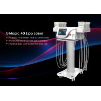 Tuv Medical Ce Smart Lipo Machine , Non Invasive Laser Lipo Machine 650nm / 940nm Manufactures