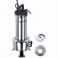 Stainless Steel Sewage Pump with Cutter and 10m Maximum Immersion Manufactures