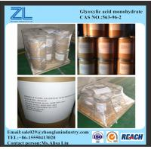 563-96-2(Glyoxylic acid monohydrate 98%) Manufactures