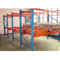 Galvanized Pallet Racking Weight Capacity 1200Kg Custom Storage Shelving Manufactures
