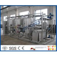 Manually / Semi - Auto Small CIP Cleaning System Conjunct Type 5TPH 10TPH Manufactures