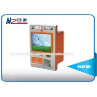 Touch Screen Multimedia Wall Mount Kiosk With Card Reader And Bill Validator Manufactures