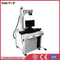 Bath room and kitchen products fiber laser marking machine with laser power 20W Manufactures