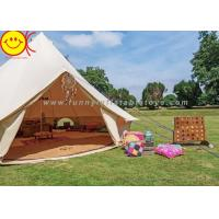 5+ Person Outdoor Cotton Canvas Glamping Mongolian Desert Family Camping Tent Manufactures