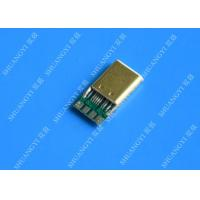 SMT iPhone Waterproof Micro USB Connector , Type C USB 3.1 Connector Manufactures
