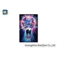 High Resolution Lenticular Greeting Cards Movie Star Photo Eco - Friendly Material Manufactures