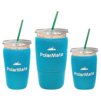 3 Pack Lightweight Reusable Neoprene Coffee Cup Sleeve Manufactures