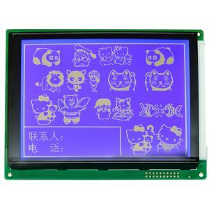 Dot Matrix Type Graphic LCD Display Module COB Bonding Mode For Communication Equipment