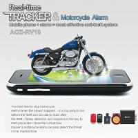RFV10 Remote-Control Motorcycle Security AGPS LBS Tracker W/ web tracking & Alarm by SMS Manufactures