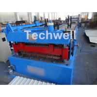 Welded Wall Plate Forming Structure Roof Roll Forming Machine 0-15m / Min Forming Speed