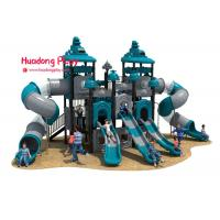 High Strength Outdoor Playground Slides , Play Structure Slide Food Grade for sale