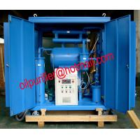 China Single Stage Vacuum Insulating Oil Processing Unit,transformer Oil Dehydrating Plant, Oil Purification Solution Factory on sale
