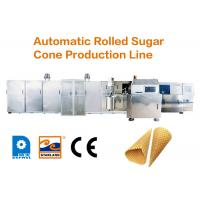 Buy cheap High Stability Automatic Cone Production Line Continuous Operation Over 10000pcs Per Hour from wholesalers