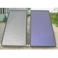 High quality flat panel solar hot water collector Manufactures