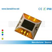 Reflective Raised Pavement Markers Solar Road Stud Cat Eye Reflectors On Roads Manufactures