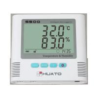 Sound Light Alarm Import Sensor High Accuracy Server Room use Temperature Humidity Data Logger Manufactures