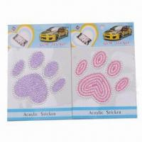 Car Stickers for Decoration, Customized Designs are Accepted Manufactures