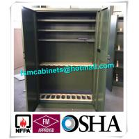 Quality Fireproof Gun Storage Industrial Safety Cabinets , Gun Powder Storage Flame Proof Storage Cabinets for sale