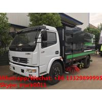 2018s YEAR-END PROMOTION! HOT SALE! Dongfeng 120hp diesel road washing sweeper truck street washing and sweeping vehicle Manufactures
