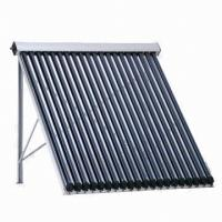 Heat Pipe Solar Collector with Copper Pipe Inside Evacuated Tube Manufactures