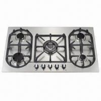Gas Stove with Stainless Steel Cook-panel and Automatic Electronic Ignition Manufactures
