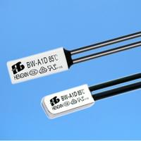 PCB Mount fuse block 250v / 10a Temperature Sensor bimetal thermal switch protectors Manufactures