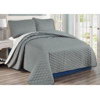 100%Cotton Washable Durable Bed Spread Sets With Comforter / Pillow Case / Pillow Sham Manufactures